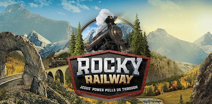 Rocky Railway: St. John's UCC Burton VBS image