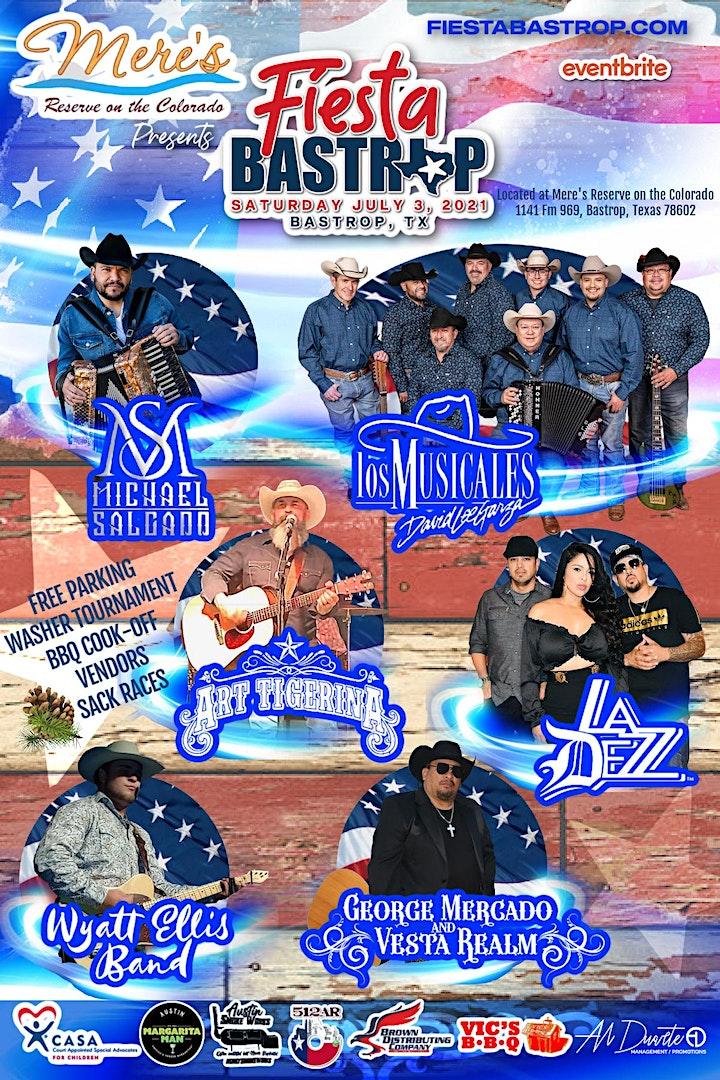 Mere's Reserve on the Colorado Presents... Fiesta Bastrop image