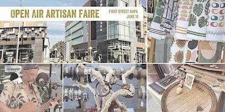 Open Air Artisan Faire | Makers Market - Napa tickets
