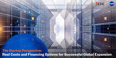 Startup Perspective: Real Costs & Financing Options for Global Expansion tickets