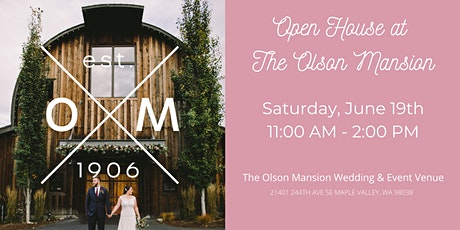 Open House at The Olson Mansion tickets