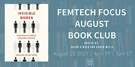 FemTech Focus Book Club - Invisible Women by Caroline Criado Perez tickets