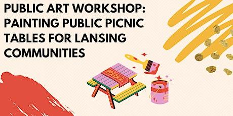 Public Art Workshop (Grades K-5) : Creative Placemaking Lansing (June 16th) tickets