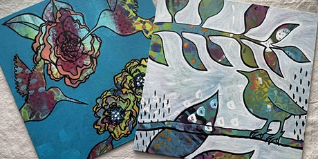 Creative Arts Workshop: Exploring Layers with Mixed Media on Canvas tickets