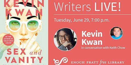 Writers LIVE! Kevin Kwan, Sex and Vanity tickets