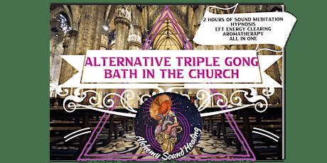 GONG BATH SOUND HEALING GUIDED MEDITATION CHAKRA HEALING SOUND BATH 2 FOR 1 tickets
