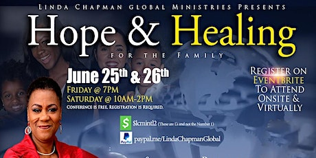 """""""Hope & Healing for the Family"""" tickets"""