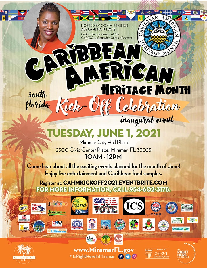 Caribbean-American Heritage Month South Florida Kick-off Celebration image