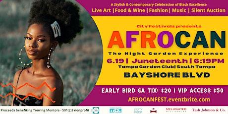 AfroCAN Fest: Night Garden Experience tickets