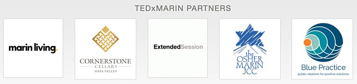 (Two UNIQUE Events) TEDxMarin Online Broadcast  +  In-Person  After-Party image