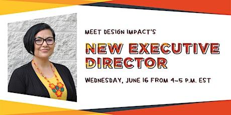 Meet Design Impact's New Executive Director ingressos
