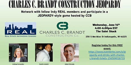 Jeopardy and Drinks with Charles C. Brandt tickets