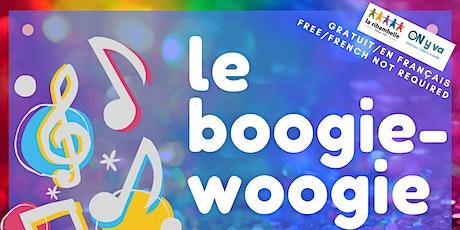 Le boogie-woogie (activité interactif  pour petite-enfance 0 à 6ans) billets