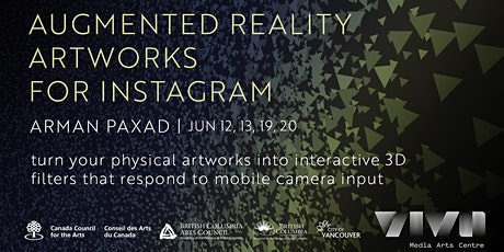 Augmented Reality Artworks for Instagram tickets