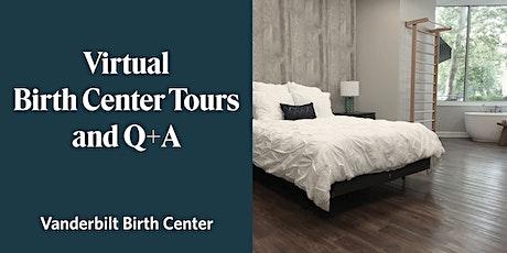 Virtual Birth Center Tour and Live Q+A tickets