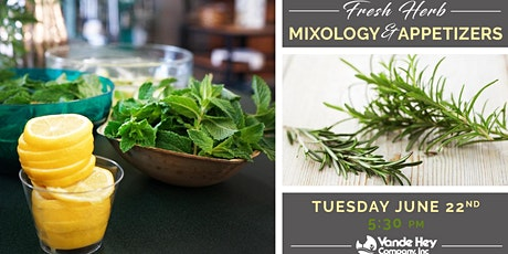Fresh Herb Mixology and Appetizers tickets