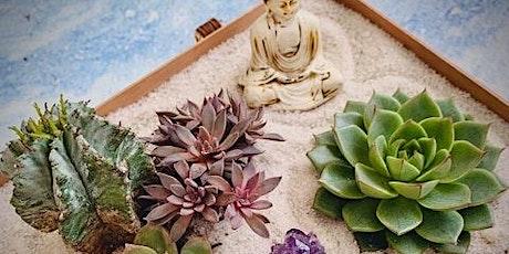 Yoga + Zen Gardens Workshop tickets