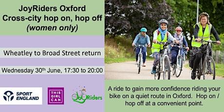 Cross-city hop on, hop off: Wheatley to Broad Street return tickets