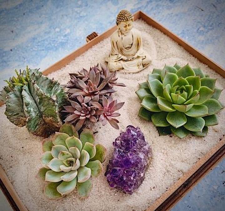 Yoga + Zen Gardens Workshop image