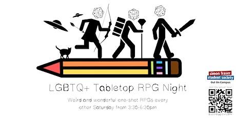 LGBTQ+ Tabletop RPG Night tickets