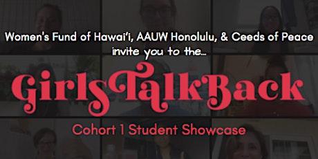 Girls Talk Back Showcase (Cohort 1) tickets