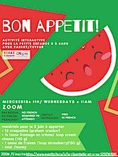 Bon Appétit! billets