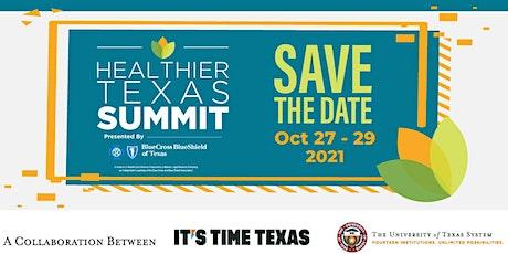 Healthier Texas Summit Virtual Sponsorship Opportunities tickets