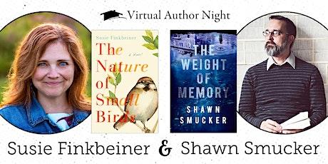 Virtual Author Night with Susie Finkbeiner & Shawn Smucker tickets