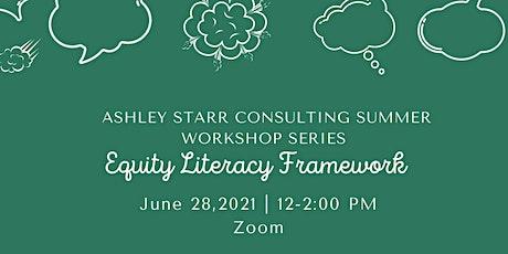 Equity Literacy Framework tickets