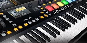 Presentación de los nuevos teclados Advance de Akai