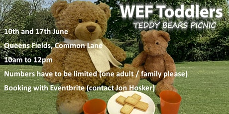 WEF Toddler Group 'Teddy Bear Picnic' tickets