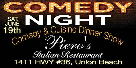 Piero's COMEDY & CUISINE tickets
