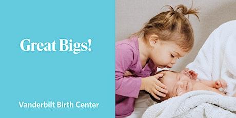 Great Bigs! Sibling Prep Virtual Class tickets