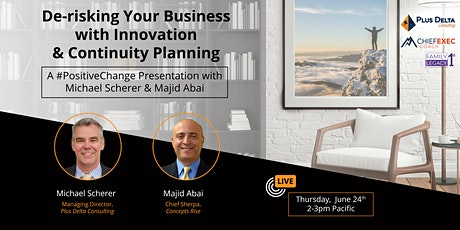 De-risking Your Business with Innovation & Continuity Planning tickets