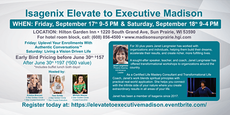 Elevate to Executive Madison - Fri & Sat tickets