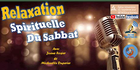 Relaxation Spirituelle du Sabbat billets