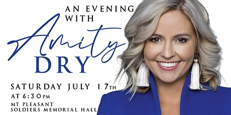 An Evening With Amity Dry Presented by Torrens Valley Soccer Club tickets