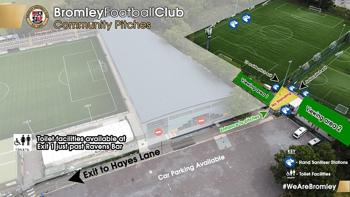 Girls U14 Bromley Youth  FC trials  for  2021/2022 season. image