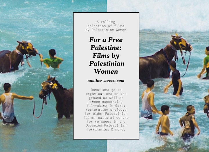 ONLINE! Another Gaze presents: An Evening with Palestinian Women Filmmakers image