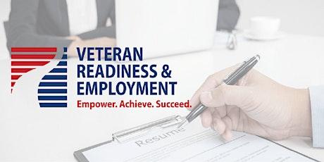 CalTAP: Veteran Readiness & Employment Benefits Overview tickets