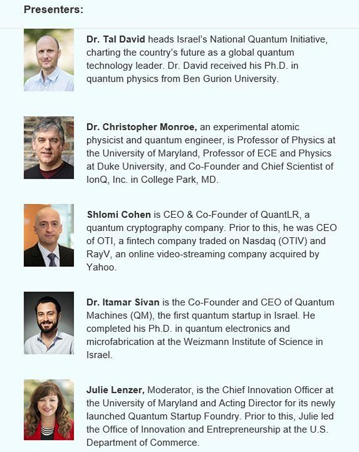 How Quantum Computing Will Revolutionize the World: MD & Israeli Experts image