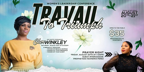 'Travail to Triumph' Women's Leadership Conference tickets