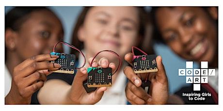 Wearables  Workshop for Girls: Code/Art + Micro:bit tickets