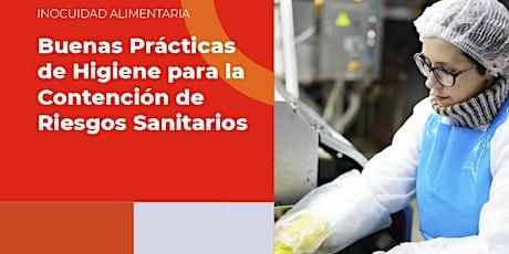 Buenas Prácticas de Higiene para la Contención de Riesgos Sanitarios boletos