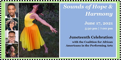 """Sounds of Hope & Harmony: Juneteenth Celebration  - """"Day of Jubilee!"""" tickets"""