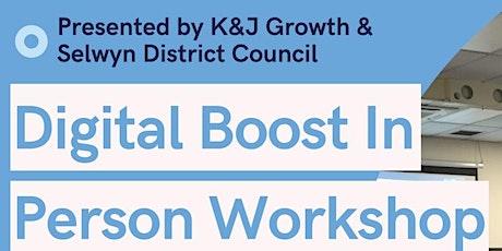 Digital Boost - In person Workshop tickets