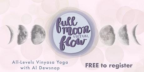 Full Moon Slow Flow (Free Virtual Yoga Class) tickets