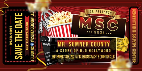 6th Annual Mr. Sumner County - Old Hollywood in Hendersonville tickets