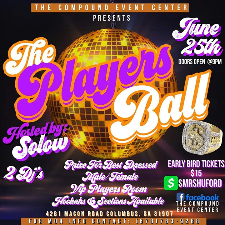 The Compound Event Center presents The Player's Ball image