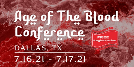 Age of Blood Conference tickets